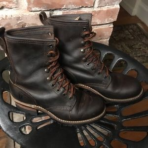 Frye Logger Boots